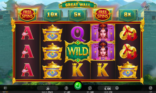 The Great Wall free slot