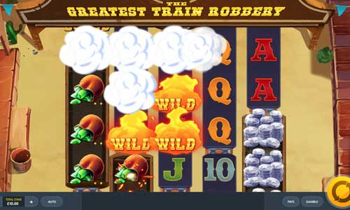 The Greatest Train Robbery free slot
