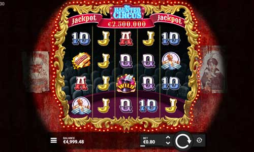 The Haunted Circusjackpot slot