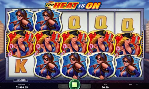 The Heat is On free slot