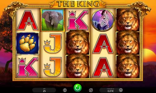The King free slot