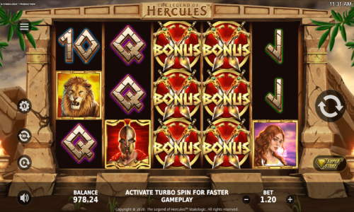 The Legend of Hercules free slot
