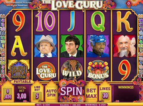 The Love Guru free slot