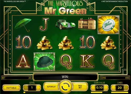 The Marvellous Mr Green casino slot