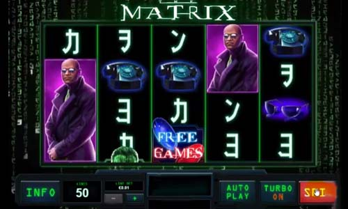 The Matrix free slot
