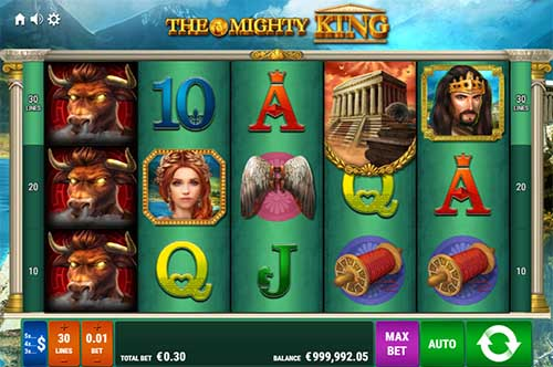 The Mighty King free slot