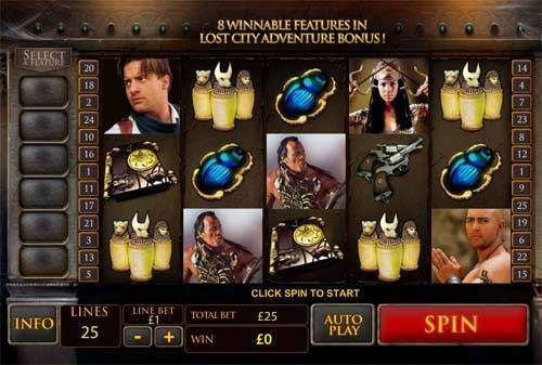 The Mummy free slot