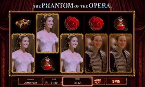 The Phantom of the Opera free slot