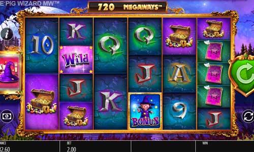 The Pig Wizard Megawayssticky wilds slot
