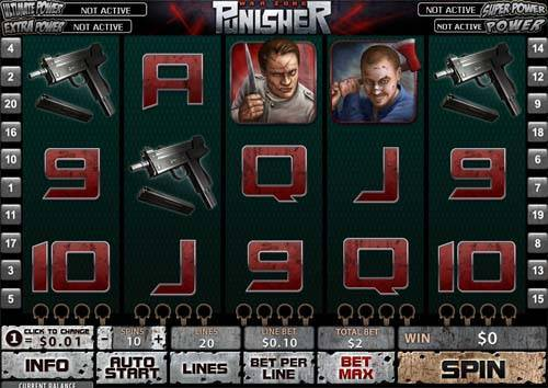The Punisher free slot