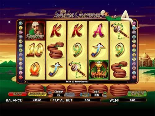 The Snake Charmer free slot