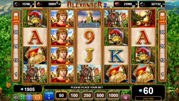 The Story of Alexander II free slot