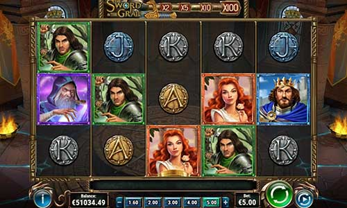 The Sword and the Grail free slot