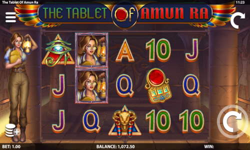 The Tablet of Amun Ra free slot