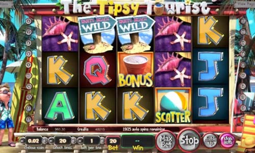 The Tipsy Tourist casino slot
