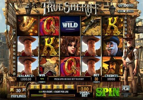 The True Sheriff free slot