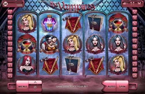The Vampires free slot