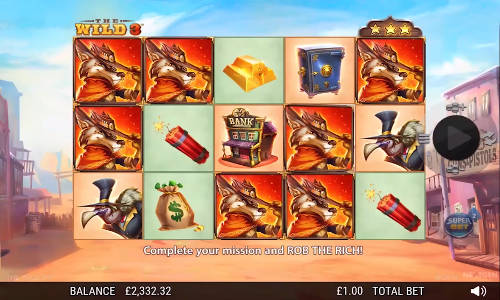 The Wild 3 casino slot