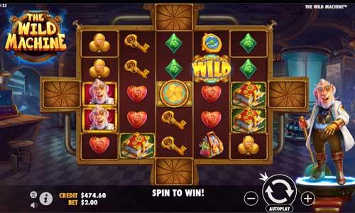 The Wild Machinesticky wilds slot