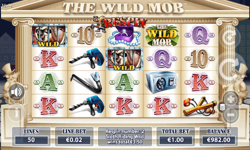 The Wild Mob free slot