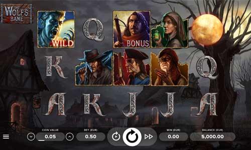 The Wolfs Bane free slot