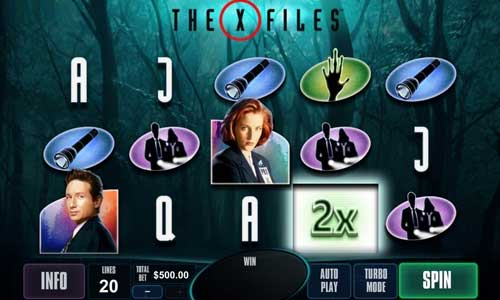 The X-Files free slot