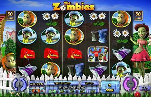 The Zombies casino slot