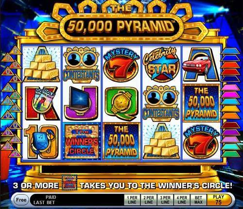 The 50,000 Pyramid casino slot