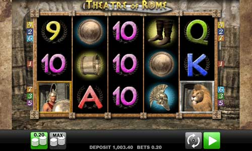 Theatre of Rome free slot