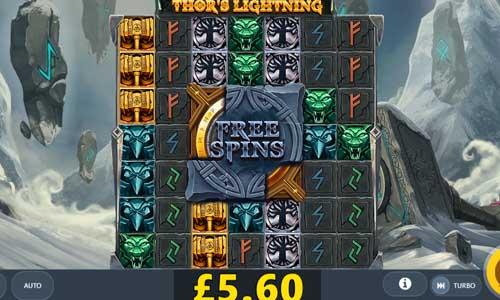 Thors Lightning free slot