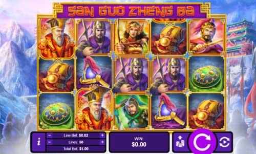 Three Kingdom Wars free slot