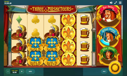 Three Musketeers free slot