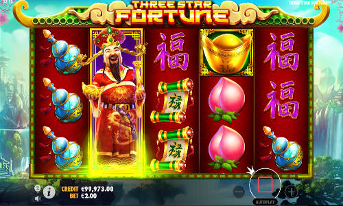 Three Star Fortune free slot