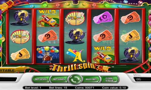 Thrill Spin classic slot