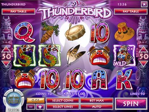 Thunderbird free slot