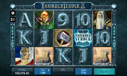 Thunderstruck 2 casino slot