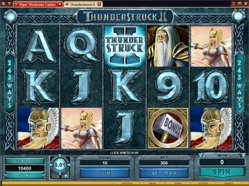 Thunderstruck 2 free slot