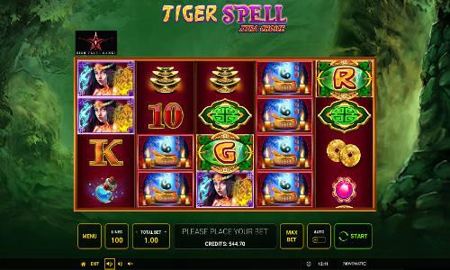 Tiger Spell Xtra Choicesymbol upgrade slot