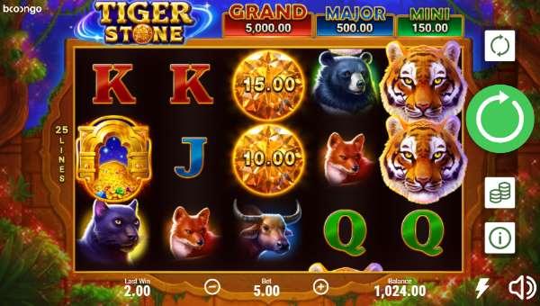 Tiger Stone free slot