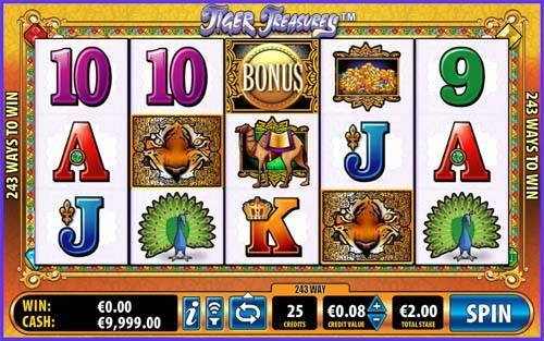 Tiger Treasure free slot