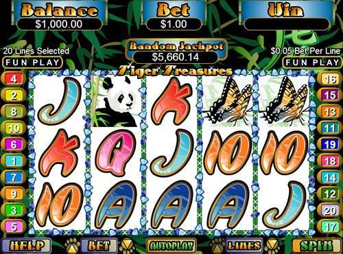 Tiger Treasures free slot