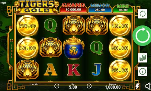 Tigers Gold slot