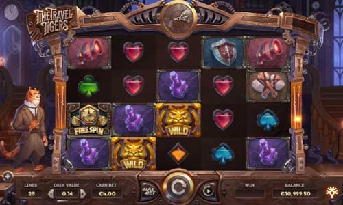 Time Travel Tigers free slot