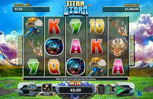 Titan Storm free slot
