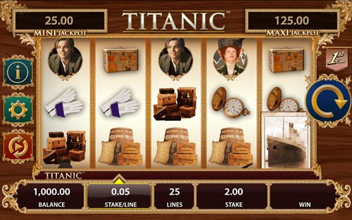Titanic casino slot