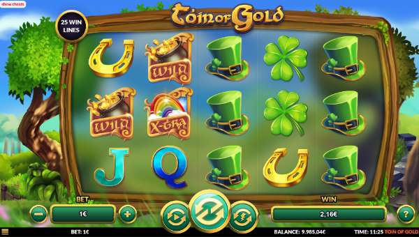 Toin of Gold free slot