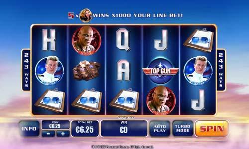 Top Gun free slot