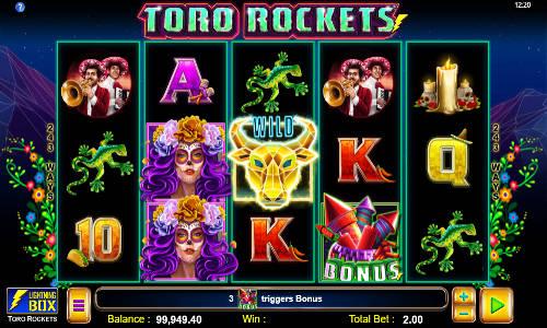 Toro Rockets casino slot