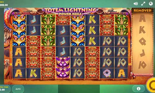 Totem Lightning Power Reelscluster pays slot