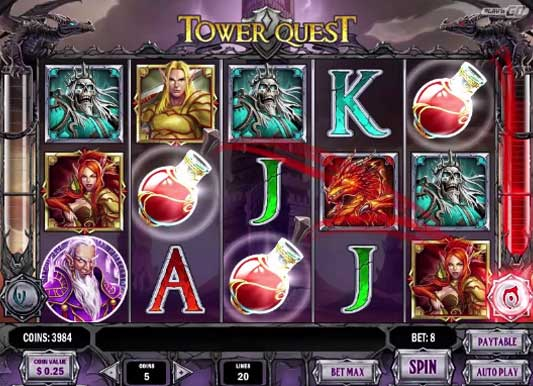 Tower Quest free slot
